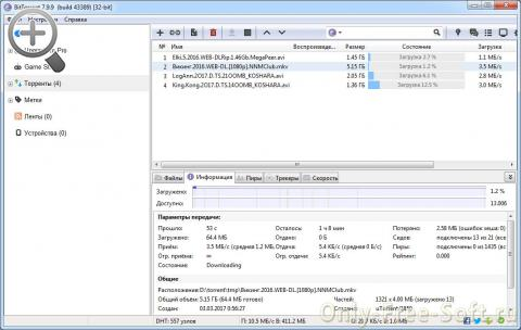 BitTorrent download proces