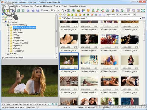 FastStone Image Viewer менеджер