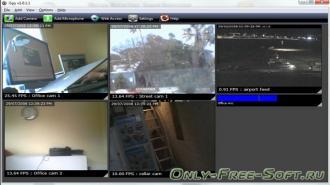 ispy видеонаблюдения