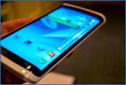 Смартфон с трехгранным дисплеем от Samsung